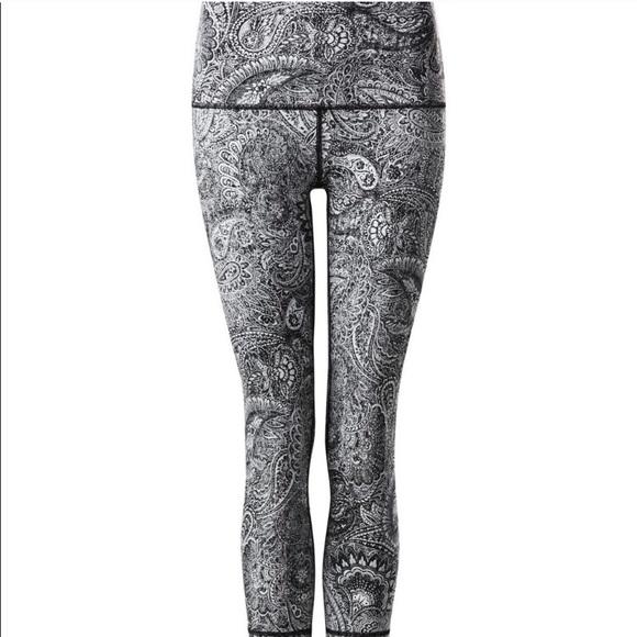 c244ecca93 lululemon athletica Pants - Lululemon wunder under antique paisley leggings  4
